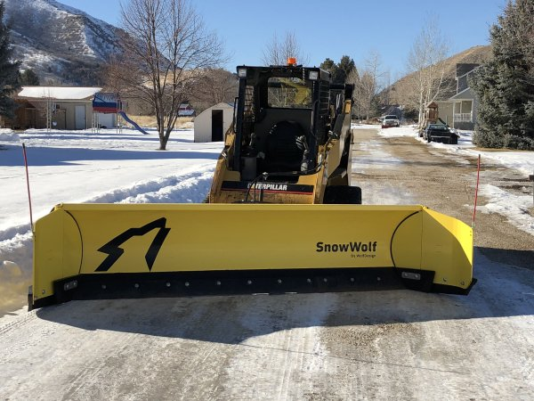 Snow removal in Brigham City